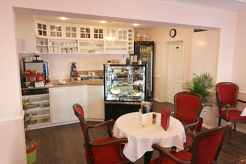 Reichhaltige Auswahl in unserem Café